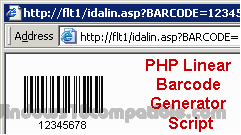 PHP Linear Barcode Generator Script 13 04 Free download